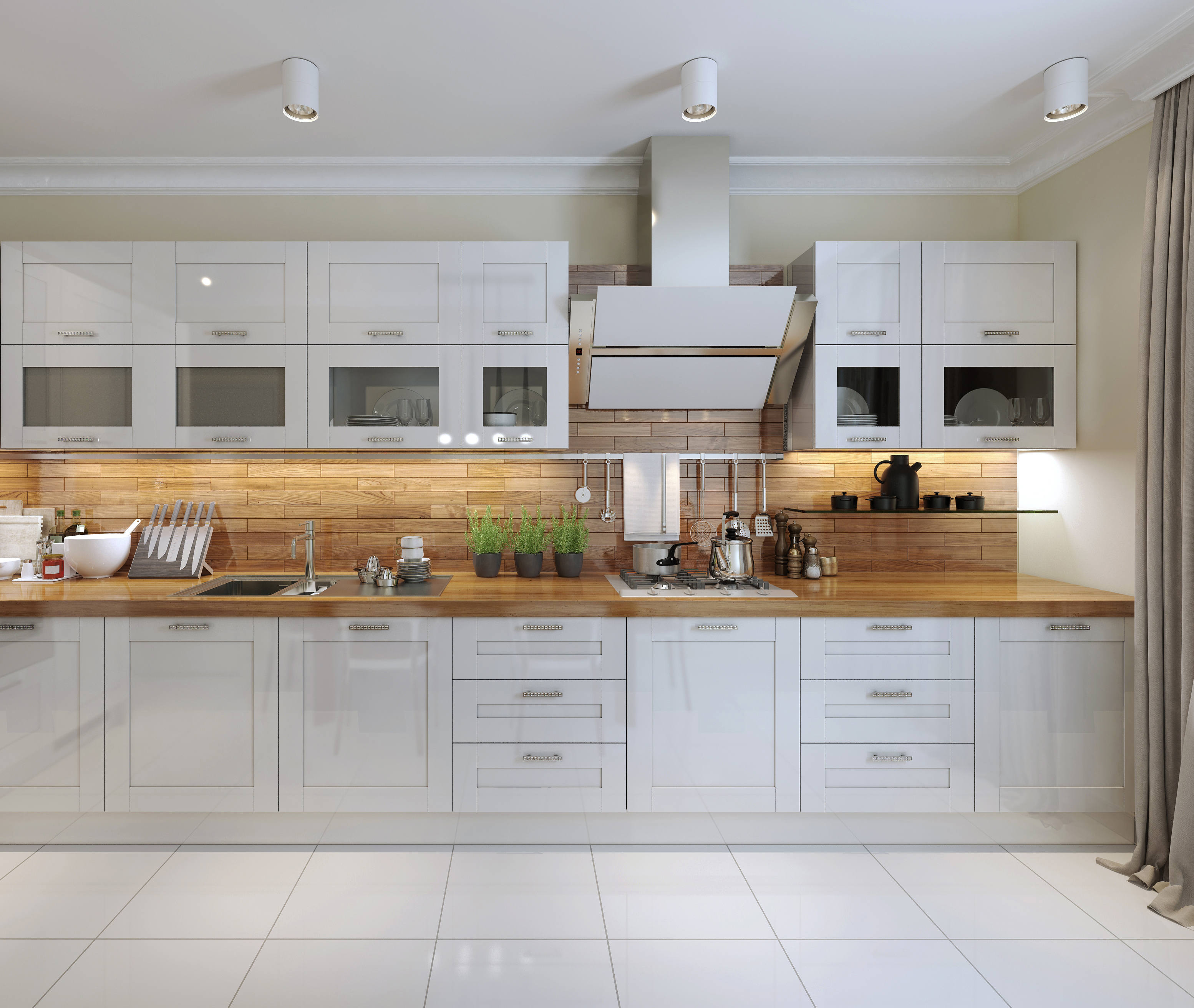 Kitchen Layout Peninsula: Ideas For Kitchens - Layout & Design