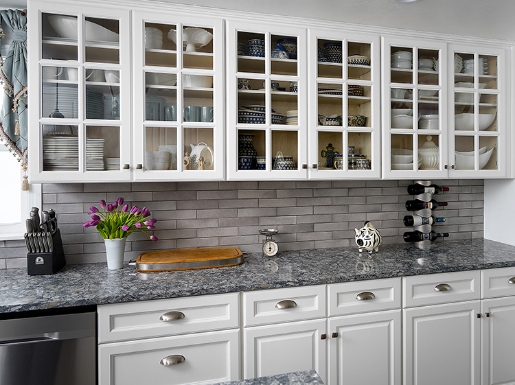 Designing Your Kitchen With Glass Front Cabinets Fabuwood Blog
