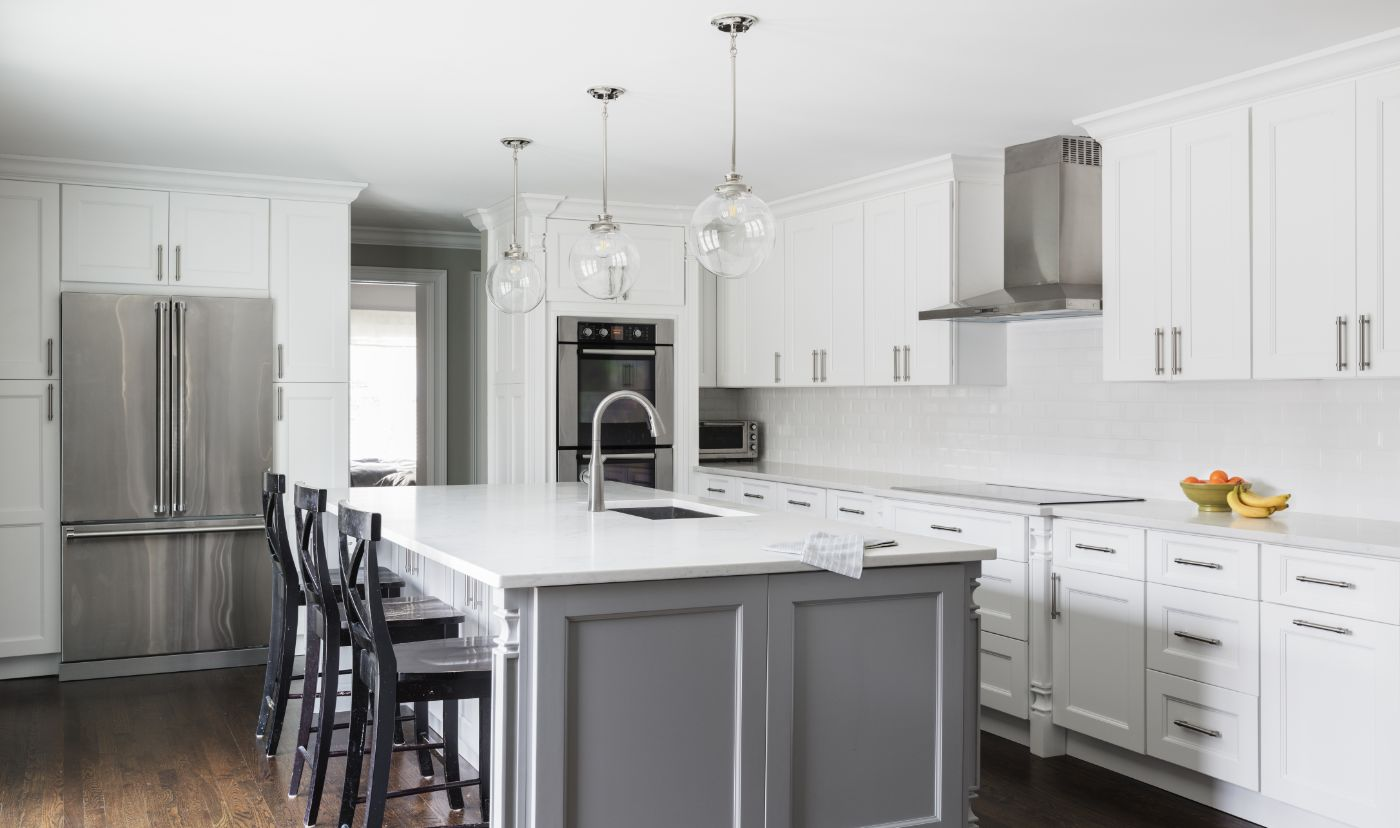 Trending kitchen cabinet colors 2019 - How to change kitchen cabinet color ...
