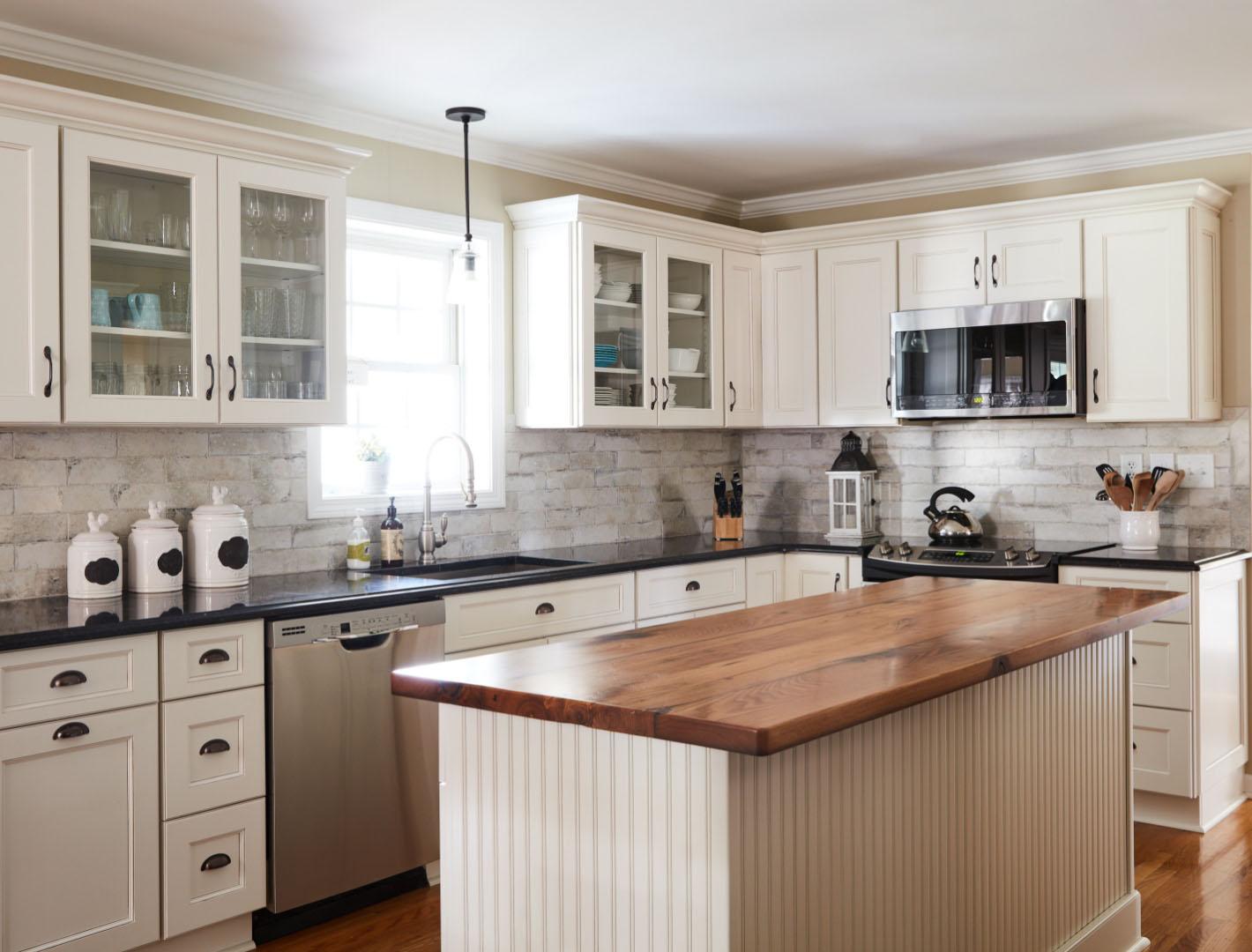 L shaped kitchens