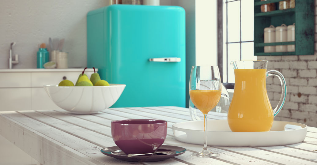 Colored kitchen appliances Ideas